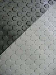 circular studded rubber flooring and matting polymax circa