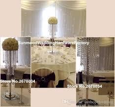 Acrylic Flower Vases Newest Cluxury Heap Acrylic Flower Vases Stand For Wedding