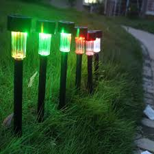 Landscape Path Lights by 18 Pack Outdoor Garden Solar Power Landscape Path Lights U2013 Izvipi Com