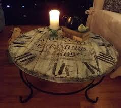 Clock Coffee Table How To Make A Pallet Wood Clock Coffee Table Iseeidoimake