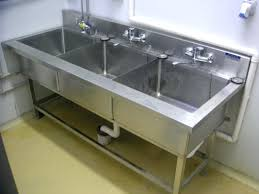 used 3 compartment stainless steel sink kitchen sink 3 compartment kitchen sink undermount 3 compartment