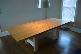 Make Your Own Reclaimed Wood Desk by Reclaimed Bowling Lane Table 5 Steps With Pictures