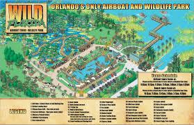Aquatica Map Wild Florida Airboat Rides Buggy Tour Tierpark