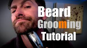 beard grooming tutorial how to grow groom and trim your beard