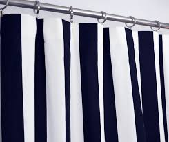 White And Navy Striped Curtains Curtain Blue White Striped Curtains Curtain And Navy Shower