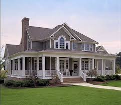 country style house with wrap around porch 109 best home images on farmhouse plans
