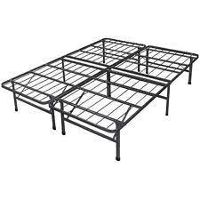 White Platform Bed Frame Platform Bed Frame Ebay
