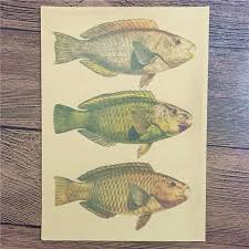 direct selling home decor direct selling ctf 022 free ship vintage poster gold fish home