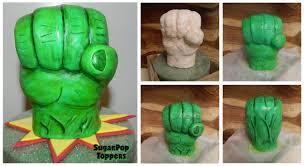 hulk wedding cake topper hulk cake topper hulk fondant hulk