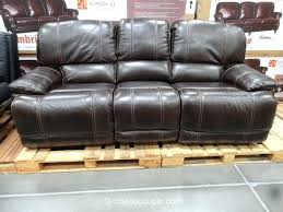pulaski leather reclining sofa cheers windsor power leather recliner costco cheers furniture