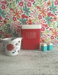 Retro Kitchen Canisters by Red And White Kitchen Canisters Detrit Us