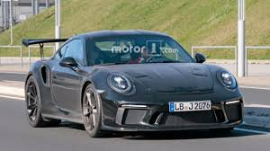Porsche 911 1st Generation - updated porsche 911 gt3 rs spied with little camo on the road