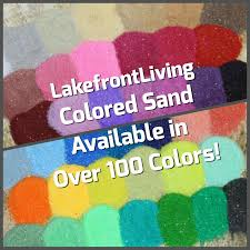 unity colored sand for wedding unity sand craft projects kids