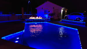 pool led lighting dmx controlled solutions adaptable with pentair