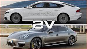 porsche audi luxury porsche panamera vs audi a7 u2013 super car