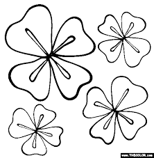 st patricks day online coloring pages page 1