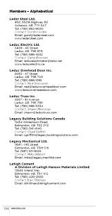 Leduc Overhead Door 2016 Eca Member Directory By Edmonton Construction Association Issuu