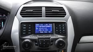 Ford Explorer Dashboard - 2014 ford explorer review autoevolution