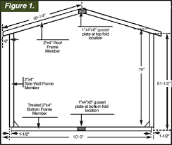 How To Build A 10x12 Shed Plans by E Z Frame Shed 10 U0027