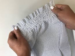 shirring elastic how to create shirring with elastic thread weallsew