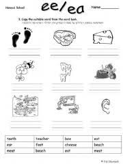 ee and ea worksheets free worksheets library download and print