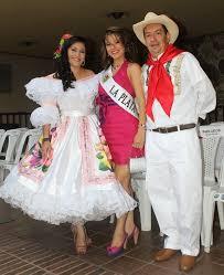 traje del sanjuanero huilense mujer y hombre para colorear neiva huila colombia asie es traje típico huilense