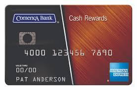 comerica credit card comerica