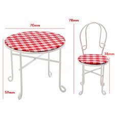 meuble canne a peche 1 12 échelle chaise de table chaise ensemble de meubles de maison