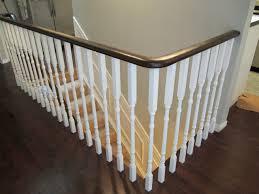 elegant wooden stairs railing repairing wooden stairs railing