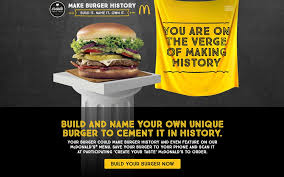 Build Your Own Meme - mcdonald s invites people to create and name their own burgers