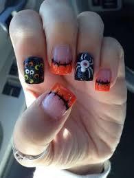 Halloween Nail Art Pumpkin - nbc nail art cute nails pinterest nail nail makeup and