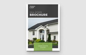 Template Real Estate by Real Estate Brochure Template U2014 Medialoot