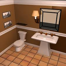 Download Bathroom Design Powder Room D Model Available In Max - Bathroom design 3d