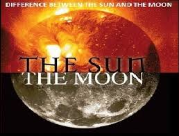 difference between the sun and the moon the islam