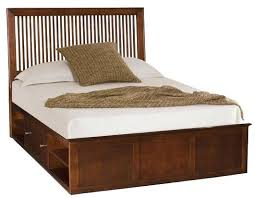 Farmhouse Bed Frame Plans King Size Storage Bed Robys Co