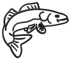 easy outlines of animals animals embroidery design walleye outline from grand slam designs