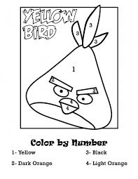 colour number bird pics photos angry birds color number
