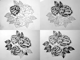traditional tattoo roses by notspecialbutnice on deviantart