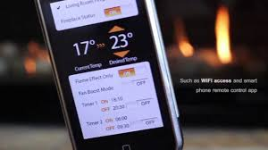control your fireplace with an iphone the new dx1500 fireplace
