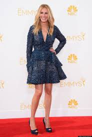 2014 Red Carpet Julia Roberts Steals The 2014 Emmys Red Carpet With Her Huge Smile