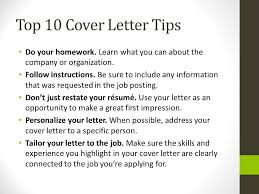 reasons why you should customize your cover letter job search