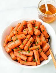 thanksgiving carrot side dish recipe crock pot honey carrots