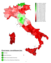 2016 Election Prediction Map by Italian Constitutional Referendum 2016 Wikipedia