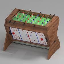 3 in 1 air hockey table game table 3 in 1 football air hockey billiards 3d