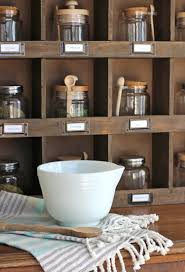 Antique Spice Rack The Craft Patch Farmhouse Wooden Cubby Shelf Styling Ideas