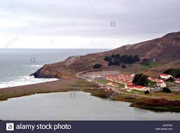 view of fort cronkhite on the california marin county coast at