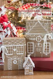 house gift uncategorized gingerbread house gift box tutorial uncategorized