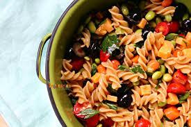 kid friendly pasta salad vegetarian mamma