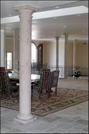 dining room indoor columns decorative interior columns diy columns cantera stone limestone architectural designs indoor columns large size