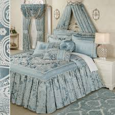 Blue And Gray Bedding Bedspreads And Oversized Bedspread Bedding Touch Of Class